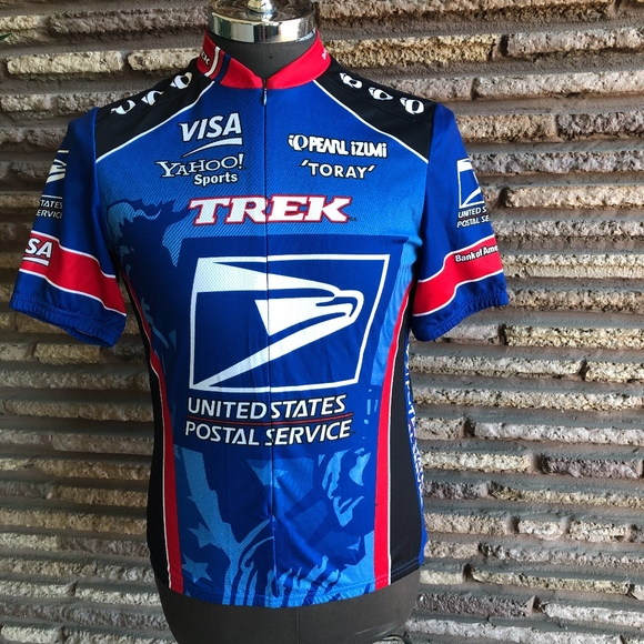 2727ca7a4 Pearl Izumi USPS Full Zip Racing Cycling Jersey. M 5c2abbec45c8b312310b1323